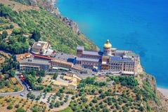 Sanctuaire de Tindari Madonna Sicile Photographie stock
