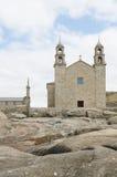 Sanctuaire de Virxe DA Barqa dans Muxia Image libre de droits