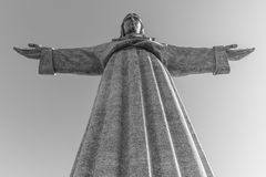 Sanctuaire du Christ le roi - Almada Photographie stock libre de droits