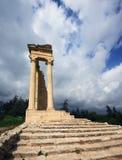 Sanctuaire et temple d'Apollo Images libres de droits