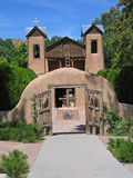 Sanctuario DE Chimayo Stock Afbeelding