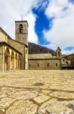 Sanctuary. The Sanctuary of St. Francis in Tuscany Stock Photo
