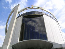 Sanctuary. Of Divine Mercy in Lagiewniki Stock Photos