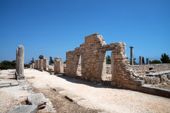 The Sanctuary of Apollo Hylates, Cyprus Stock Photography