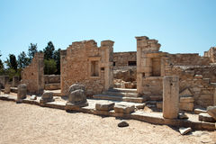 The Sanctuary of Apollo Hylates, Cyprus Stock Photos