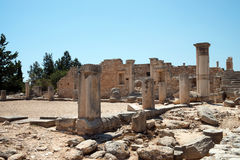 The Sanctuary of Apollo Hylates, Cyprus Royalty Free Stock Photo