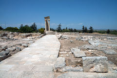The Sanctuary of Apollo Hylates, Cyprus Royalty Free Stock Image