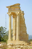 Sanctuary of Apollo Hylates near Limassol Royalty Free Stock Images