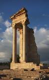 Sanctuary of Apollon Hylatis. Temple of Apollo in Kourion. Cyprus Stock Photo