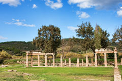 Sanctuary of Artemis Royalty Free Stock Images