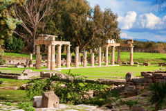Sanctuary of Artemis Royalty Free Stock Photos