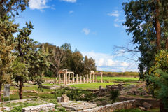 Sanctuary of Artemis Stock Image