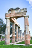 Sanctuary of Artemis Royalty Free Stock Photo
