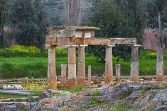 The sanctuary of Artemis at Brauron Royalty Free Stock Photos