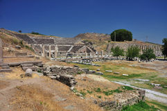 Sanctuary of Asclepius Stock Photo