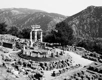Sanctuary of Athena at Delphi Stock Photography