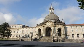 Sanctuary of Loiola Spain royalty free stock photography