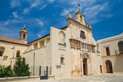 Sanctuary of Blessed Giacomo. Bitetto. Puglia. Italy. Stock Photos