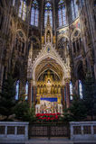 Sanctuary from catholic church, Vienna Royalty Free Stock Photos