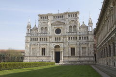 Sanctuary certosa di pavia two Royalty Free Stock Images