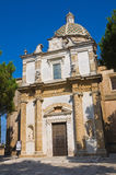 Sanctuary Church of Mater Domini. Mesagne. Puglia. Italy. Stock Photography