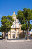 Sanctuary Church of Mater Domini. Mesagne. Puglia. Italy. Stock Image