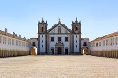 Sanctuary Complex Santuario de Nossa Senhora do Cabo Espichel Stock Photos