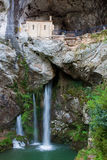 Sanctuary of Covadonga Stock Image