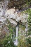 Sanctuary of Covadonga Stock Image