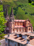 Sanctuary of Covadonga Royalty Free Stock Image