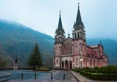 Sanctuary of Covadonga Stock Photos