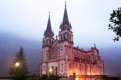 Sanctuary of Covadonga  Royalty Free Stock Photos