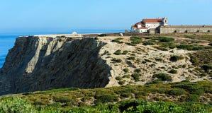 Sanctuary de诺萨Senhora做Cabo Espichel,葡萄牙 库存照片