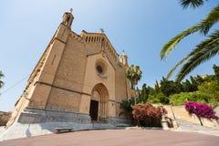 Sanctuary de Sant萨尔瓦多,马略卡 免版税库存图片