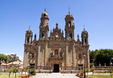Sanctuary Dos Milagres, Orense, Spain Royalty Free Stock Image