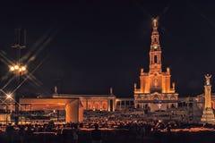 Sanctuary of Fatima, altar of the Catholic world Stock Images