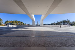Sanctuary of Fatima. Basilica of Our Lady of the Rosary Stock Images