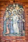 Sanctuary of Fatima interior Stock Images