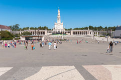 Sanctuary of Fatima in Portugal Royalty Free Stock Images