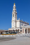 Sanctuary of Fatima, Portugal. Basilica of Nossa Senhora do Rosario Royalty Free Stock Image