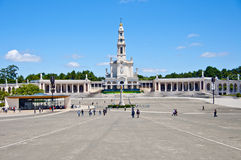 Sanctuary of Fatima in Portugal Stock Photography