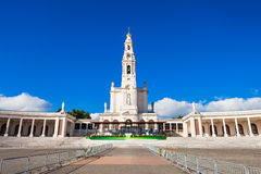 Sanctuary of Fatima stock image