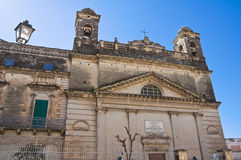 Sanctuary of Gesu Bambino. Massafra. Puglia. Italy. Stock Photos