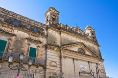 Sanctuary of Gesu Bambino. Massafra. Puglia. Italy. Stock Images