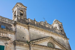 Sanctuary of Gesu Bambino. Massafra. Puglia. Italy. Stock Photo