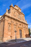 Sanctuary of Holy Crucifix. Galatone. Puglia. Italy. Stock Image