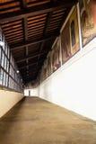 The Sanctuary of La Verna in Tuscany. Frescoes in the Sanctuary of La Verna in Tuscany, Italy Royalty Free Stock Photography