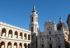 The Sanctuary of Loreto Stock Image