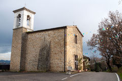 Sanctuary of the Madonna del Farneto Stock Images