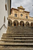 Sanctuary of Madonna del Sasso, Locarno, Switzerland Royalty Free Stock Photography